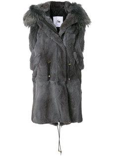 длинный жилет Furs66