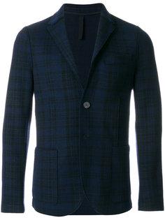 приталенный пиджак в клетку Harris Wharf London