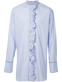 рубашка с рюшами Wooyoungmi