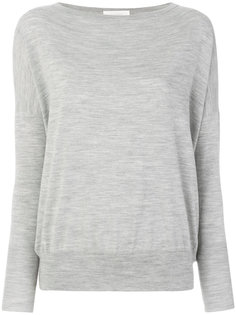 boat neck jumper Zanone