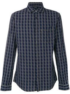 рубашка с мелким узором Armani Jeans