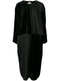 двухцветное платье миди  Hache