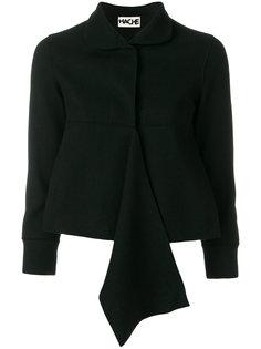 укороченная куртка с оборкой  Hache