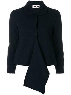 укороченный пиджак с оборкой  Hache