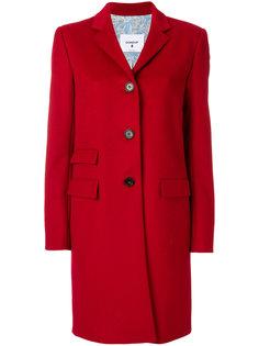 приталенное пальто на пуговицах  Dondup