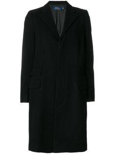 классическое однобортное пальто Polo Ralph Lauren