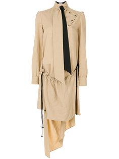 платье с завязкой на шее  JW Anderson