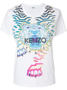 футболка Geo Tiger x Rainbow Kenzo