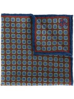 платок с мелким принтом Canali
