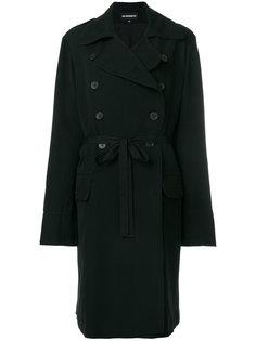 пальто слим на пуговицах  Ann Demeulemeester