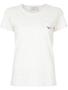 классическая приталенная рубашка Maison Kitsuné