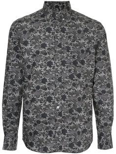 приталенная рубашка Pixel Maison Kitsuné