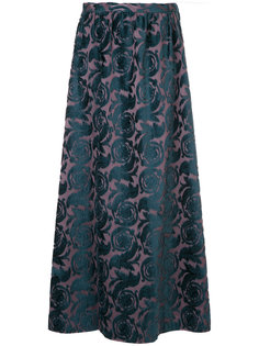 floral jacquard maxi skirt Undercover