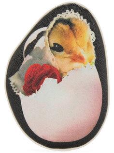 кошелек с принтом курицы Undercover