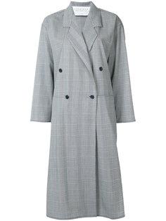 приталенное пальто строгого кроя Gabriela Hearst