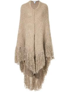 объемный шарф с бахромой Gabriela Hearst