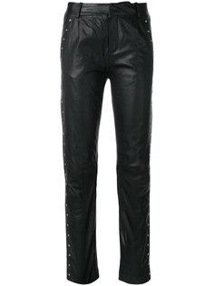 свободные кожаные брюки Just Female