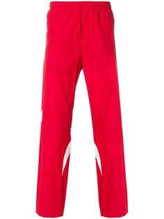 спортивные брюки с контрастными вставками Tim Coppens