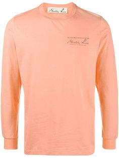 футболка с принтом-логотипом Martine Rose