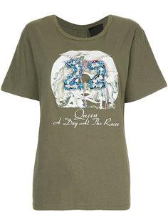 футболка с короткими рукавами с принтом Tiger In The Rain