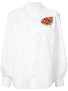 brooch detail shirt Toga