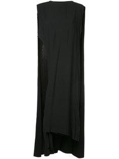 длинное платье свободного кроя Toga