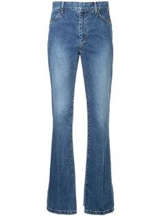 расклешенные джинсы с завышенной талией Toga