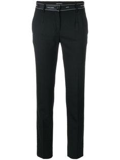 брюки слим с логотипом  Dolce & Gabbana