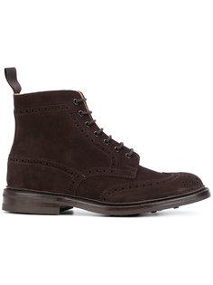 ботинки Stow на шнуровке Trickers Trickers
