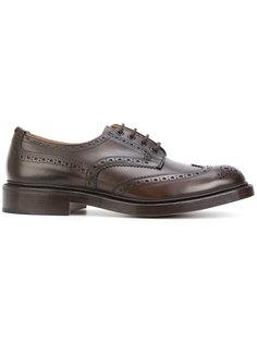 туфли на шнуровке Bourton Trickers Trickers