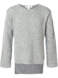 свитер со шлицами Comme Des Garçons Shirt