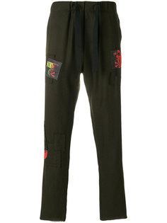 спортивные брюки с заплатками Sold Out Frvr