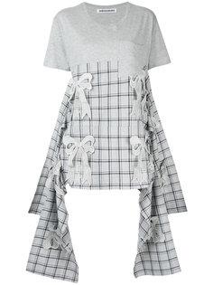 asymmetric Ribbon T-shirt Mikio Sakabe