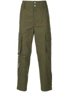 зауженные брюки карго  Public School