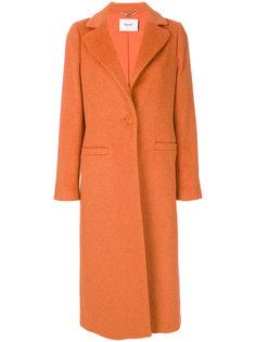 однобортное пальто  Blugirl