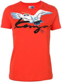 футболка с птицей  Kenzo