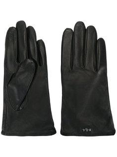 перчатки с логотипом Lauren Ralph Lauren
