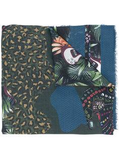 платок с принтом Zadig & Voltaire