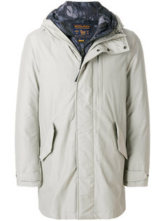 многослойное пуховое пальто Woolrich