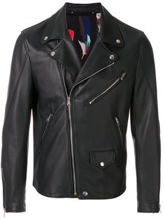 байкерская куртка  Paul Smith
