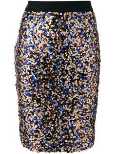 юбка-карандаш с пайетками Roseanna