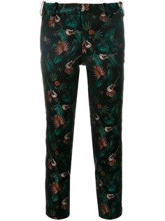 укороченные брюки с принтом Zadig & Voltaire