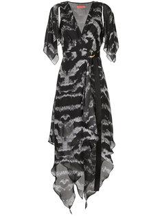 платье с запахом Tigress Manning Cartell