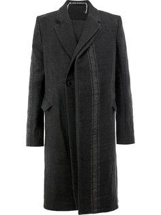 асимметричное пальто свободного кроя Cedric Jacquemyn