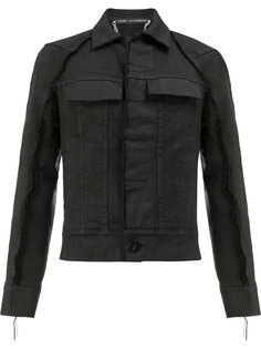 джинсовая куртка с необработанными краями Cedric Jacquemyn