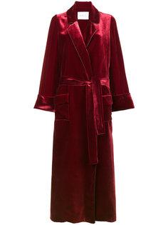 бархатное пальто-халат Windsor Racil