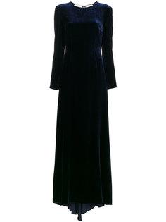 бархатное платье макси Somerset Racil