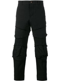 брюки с накладными панелями Comme Des Garçons Homme Plus