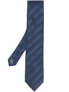галстук в диагональную полоску Lanvin