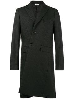 длинное асимметричное пальто Comme Des Garçons Homme Plus